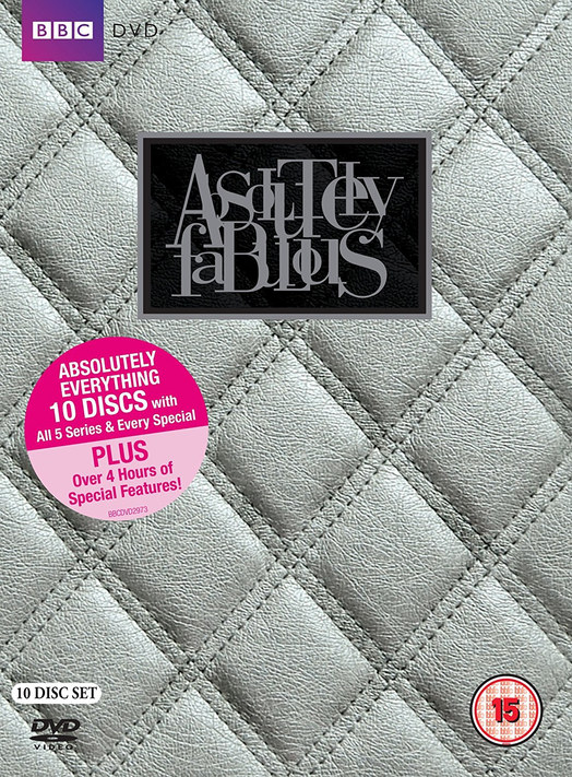 Absolutely Fabulous DVD & marketing design