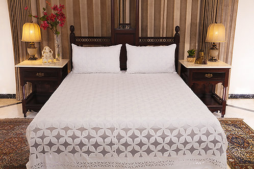 Konkan Diamond Bed Cover
