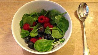 Why not add a bit of green to your fruit salad in the morning, you must admit, it does give it a lit