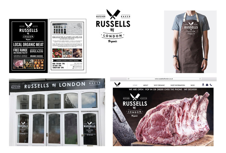 RUSSELLS OF LONDON - BUTCHERS