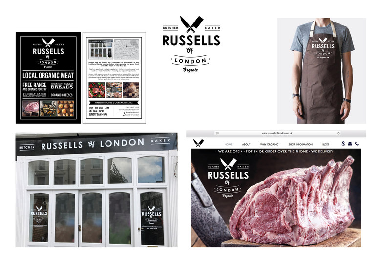 RUSSELLS OF LONDON - BUTCHERS