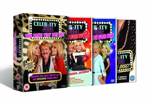 Celebrity Juice DVD boxet ITV