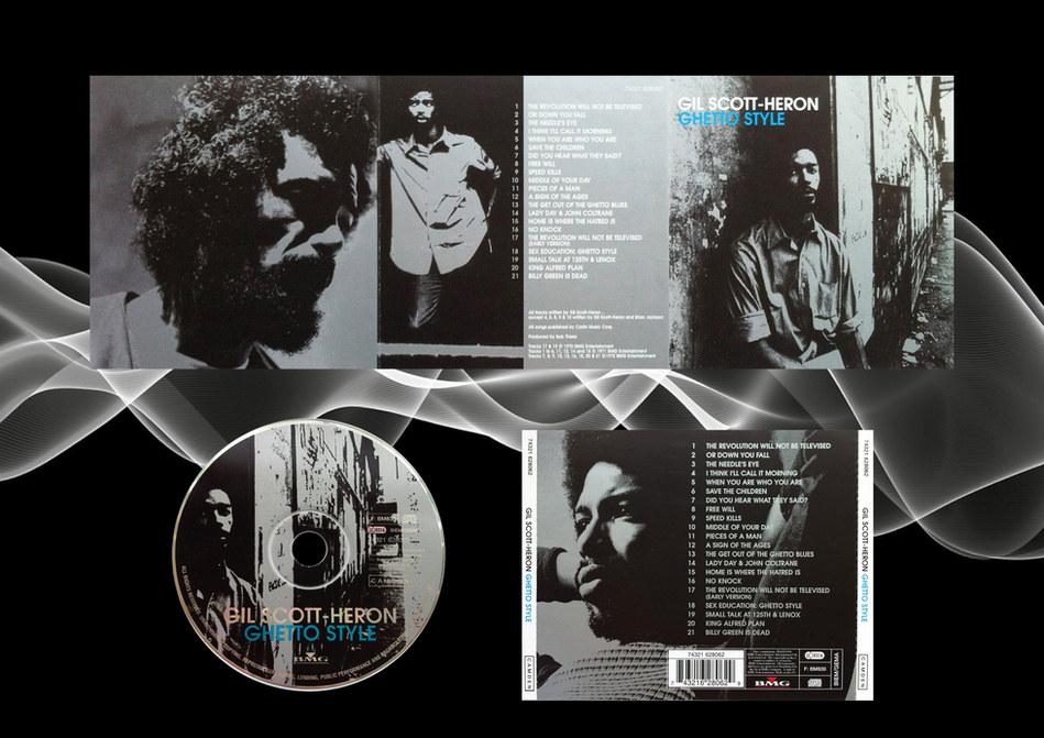 Gill Scott Heron CD