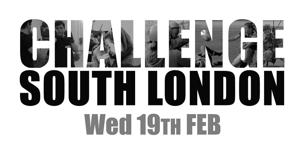 Challenge South London 19th Feb