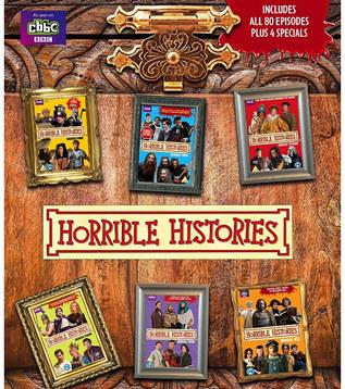 Horrible Histories DVD & marketing design CBBC