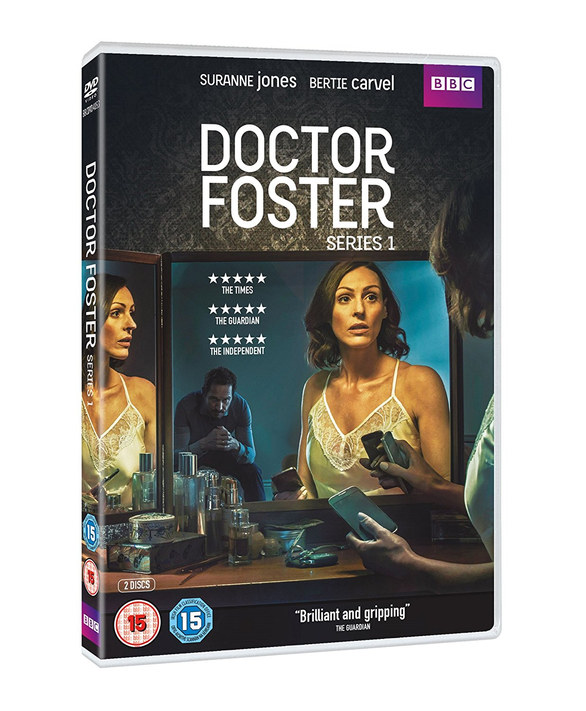 Doctor Foster DVD and marketing design