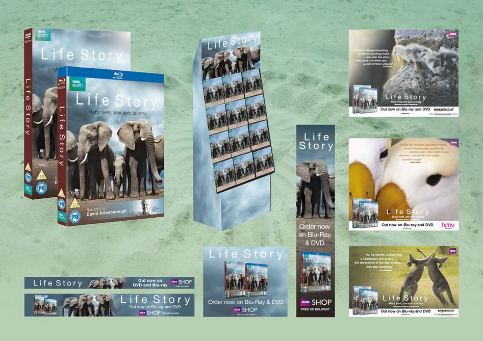 David Attenborough Life campaign BBC