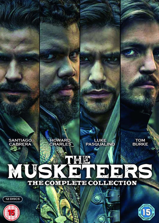 Musketeers DVD & marketing design