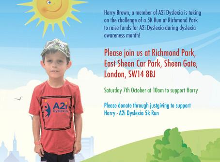 A2i Dyslexia fundraising run