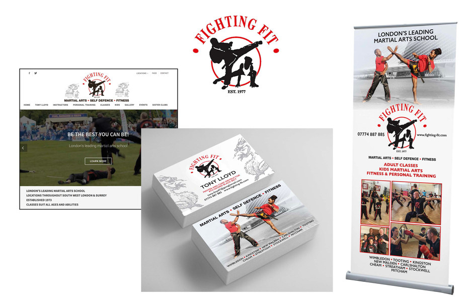FIGHTING FIT - REBRAND