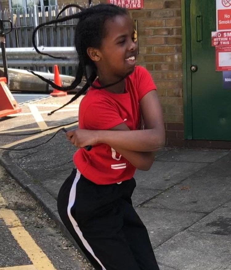 Girls 9-12 fitness