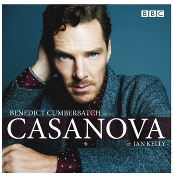 Casanova BBC Audio DVD & marketing design