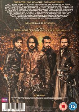 Musketeers Series 1&2 Back