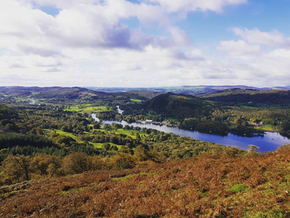 The classic view of Lake Windermere.