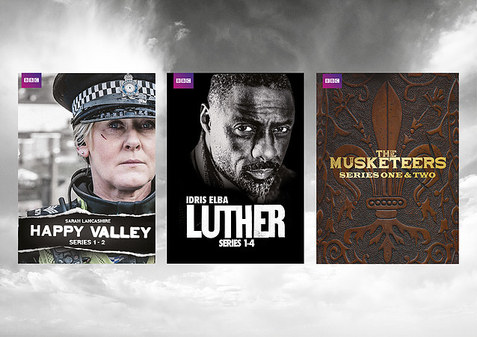 BBC DVD & marketing design