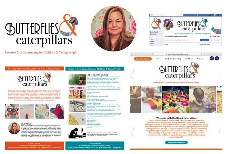 BUTTERFLIES & CATERPILLARS