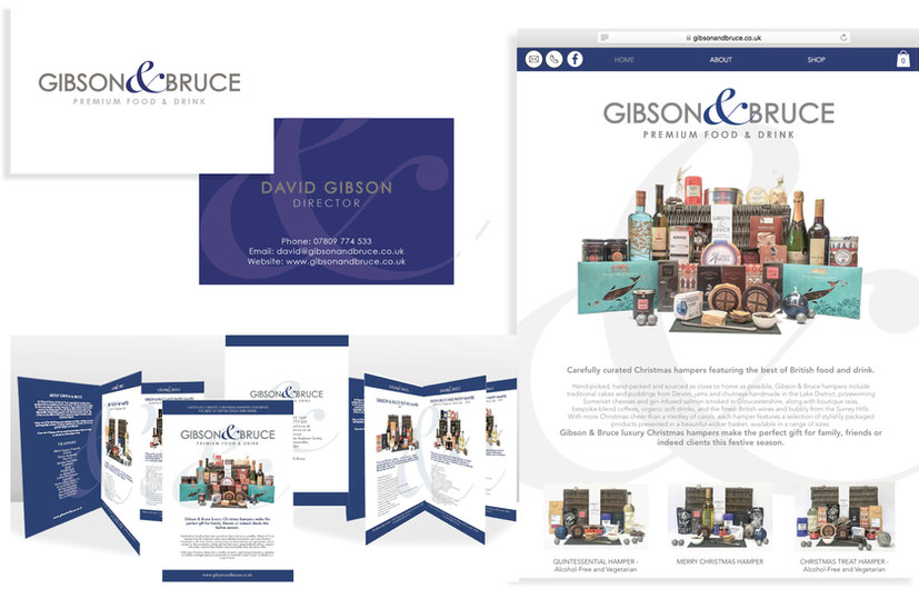 GIBSON & BRUCE LUXURY HAMPERS