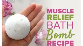 Relaxing bath bomb recipe