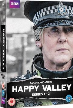 Happy Valley DVD and martketing materials