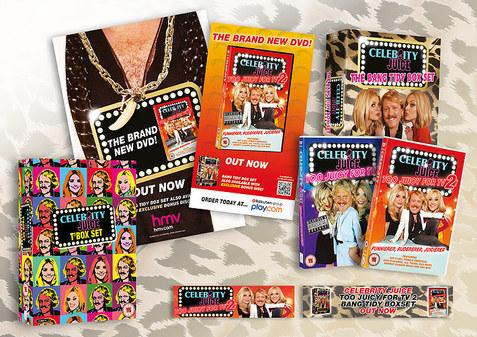 Celebrity Juice campaign ITV