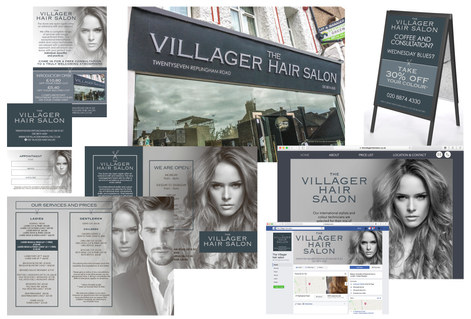 THE VILLAGER HAIR SALON