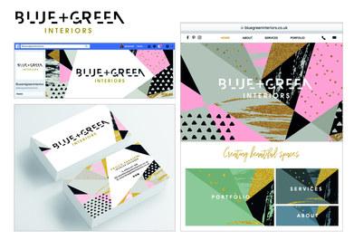 BLUE+GREEN INTERIORS