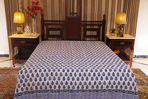 Kantha Embroidered Bed Cover