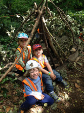Building dens and feeling proud