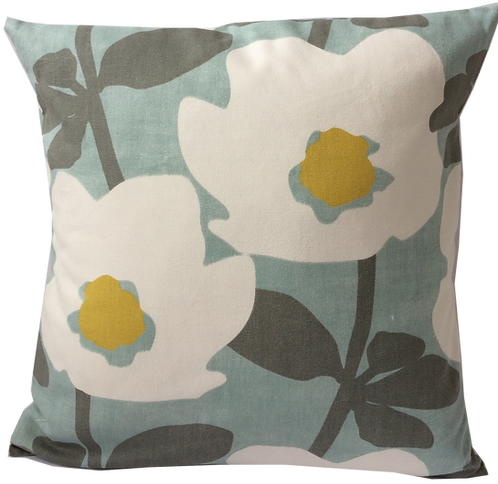 Duck Eggs In Bloom Cushion