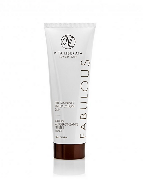 FABULOUS SELF TANNING TINTED LOTION - DARK