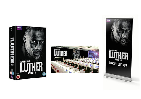 Luther DVD, large wall format and tall banner