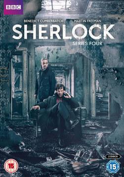 Sherlock DVD and marketing design