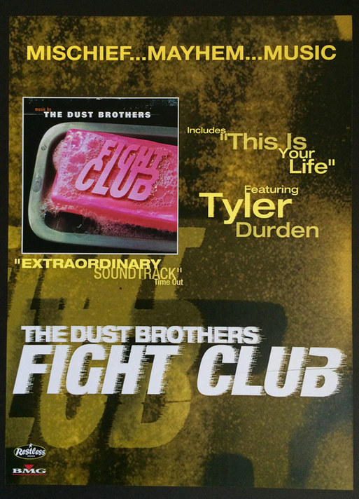 Fightclub A1 poster