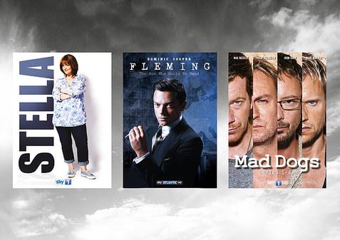 Sky DVD & marketing design