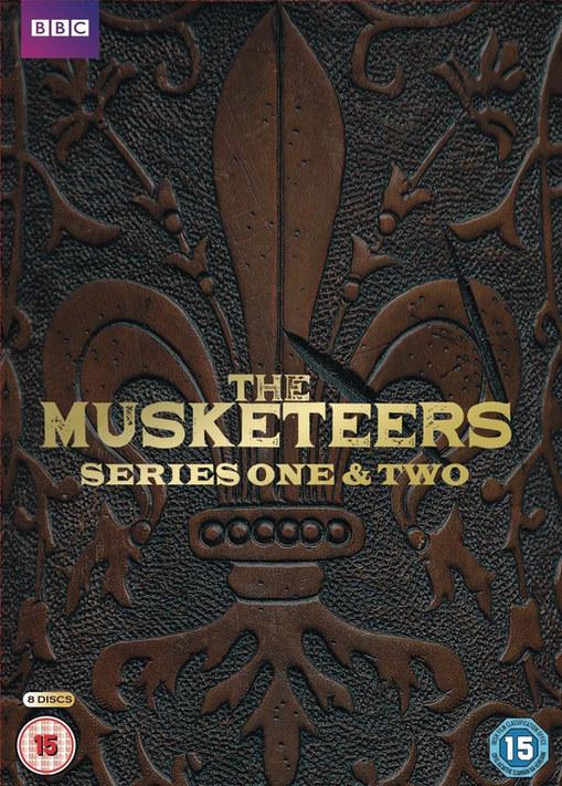 Musketeers DVD & marketing design