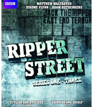 Ripper Street DVD & marketing design