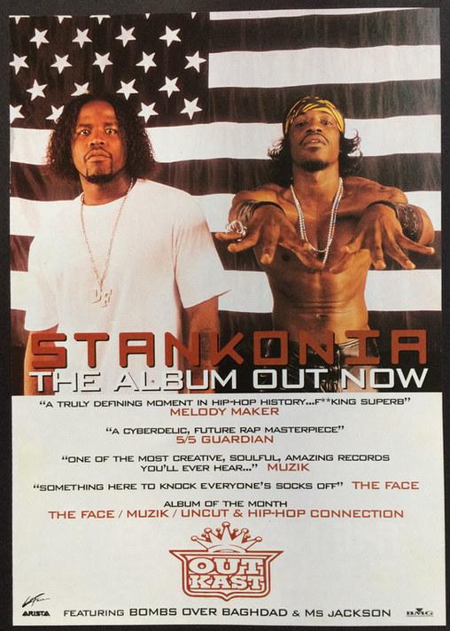 Outkast album A1 Poster