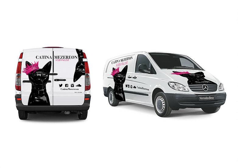 Van wrap promotion