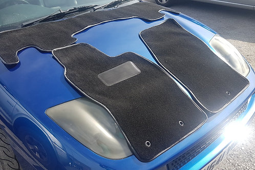 Brand New Fiat Coupe 'Plus' 3 Piece Floor Mats inc Rest of World Shipping