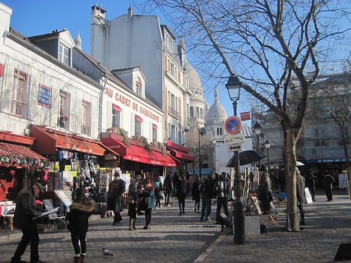 Montmartre - tasting & aperitif