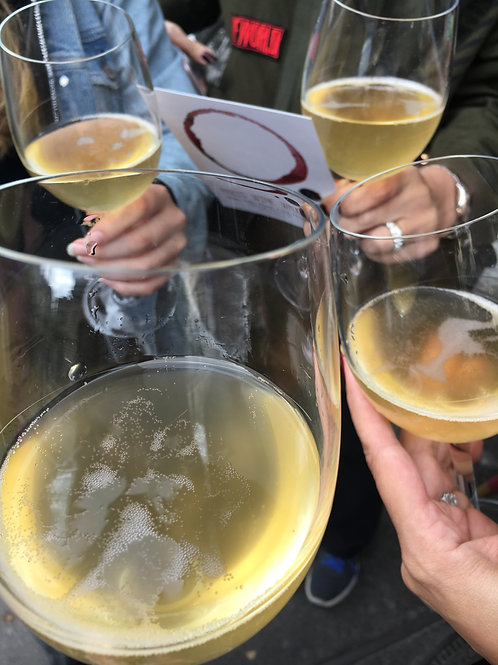 Splash de vin mousseux!