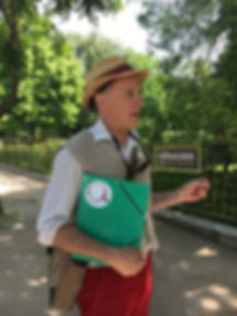 Guiding in Jardin des Plantes