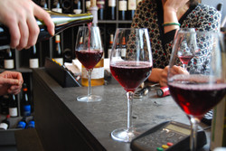 Paris Wine pouring