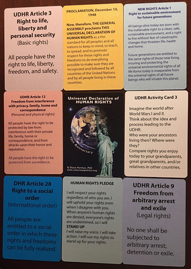 Deck of Universal Human Rights Cards