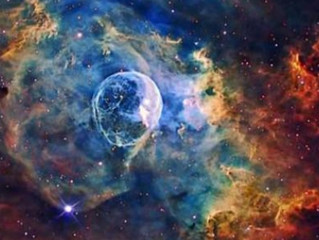 بقايا النجوم العملاقة...