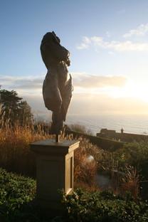 Persephone, bronze on Bathstone plinth 1.9m