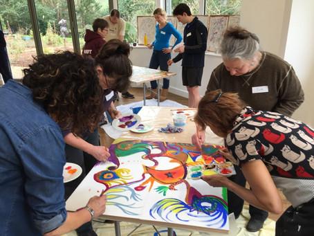 Where Art Meets Collaborative Inquiry