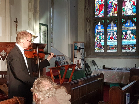 Bringing Bach to Awliscombe