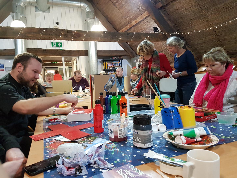Resurgo Creative Wellbeing Workshops