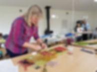 felt making studio workshop for wellbeing